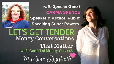 Let's Get Tender with Special Guest Carma Spence