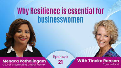 Why Resilience is essential for businesswomen